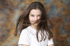 Портрет прелестно маленькой девочки Стоковое Изображение RF