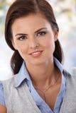 Портрет привлекательной молодой сь женщины Стоковое Изображение