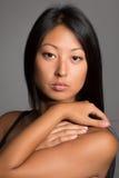 Портрет привлекательной азиатской девушки Стоковые Фотографии RF