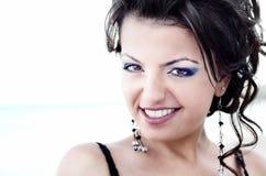 Портрет привлекательной молодой женщины Стоковое Фото