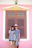 Портрет привлекательных азиатских пар Стоковые Изображения