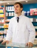 Портрет профессиональных мужских аптекарей Стоковое Изображение