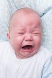 Портрет плача ребёнка Стоковые Изображения RF