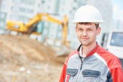 Портрет работника менеджера строительной площадки Стоковая Фотография