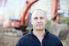 Портрет работника физического труда стоковые фото
