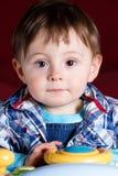 портрет ребенка близкий вверх стоковые изображения