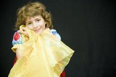 портрет ребенка счастливый Стоковые Фото