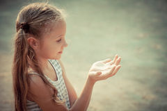 портрет ребенка счастливый стоковые фотографии rf