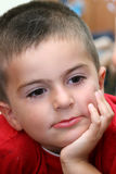 портрет ребенка Стоковая Фотография