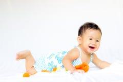 Портрет ребёнка младенца милый Стоковое Фото