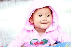 Портрет ребёнка младенца милый стоковое фото rf