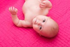 портрет ребёнка счастливый Стоковая Фотография