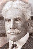 Портрет Роберта Borden стоковое фото