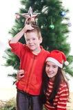Портрет рождества Стоковое фото RF