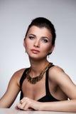 Портрет роскошной женщины Стоковая Фотография RF