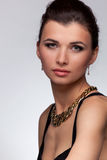 Портрет роскошной женщины Стоковые Изображения
