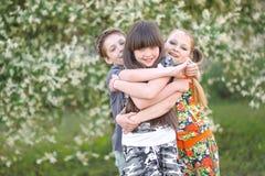 Портрет 3 друзей Стоковые Фото