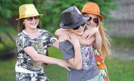 Портрет 3 друзей Стоковое Фото