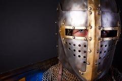 портрет рыцаря Стоковое фото RF