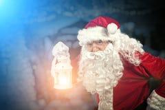 Портрет Санта Клауса Стоковые Изображения RF