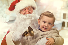 Портрет Санта Клауса Стоковые Фото