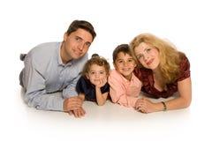 портрет семьи стоковые изображения rf