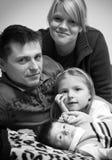 портрет семьи Стоковое Фото