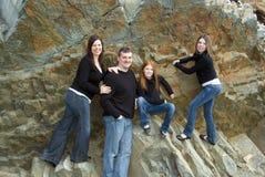 портрет семьи 4 Стоковые Изображения RF
