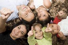 портрет семьи Стоковые Фотографии RF