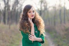Портрет сказки осени Стоковое Фото