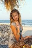 Портрет славного девочка-подростка стоковое фото rf