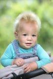 Портрет смешного мехового младенца Стоковые Изображения RF