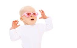 Портрет смешного младенца Стоковая Фотография RF
