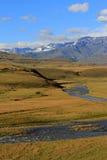 Портрет снега Drakensberg Стоковое Изображение RF