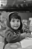 Портрет сочинительства мальчика Стоковое Фото