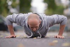 Портрет спорта человека Стоковые Изображения RF