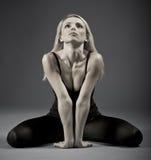 Портрет спортивной женщины Стоковое Изображение RF