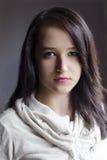 Портрет способа женщины Стоковые Фотографии RF