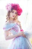 Портрет способа красивейшей женщины Стоковое Фото