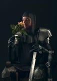 Портрет старого рыцаря Стоковая Фотография RF