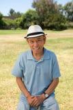 Портрет старшего человека Стоковая Фотография