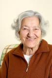 Портрет старшей женщины Стоковые Изображения