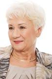 Портрет старшей женщины. стоковые изображения rf