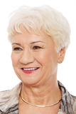 Портрет старшей женщины. стоковое изображение rf