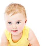 портрет стороны младенца Стоковые Изображения
