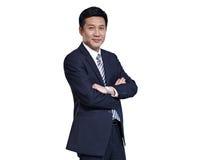 Азиатский бизнесмен Стоковое Изображение