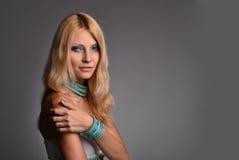 Портрет студии девушки стоковая фотография rf