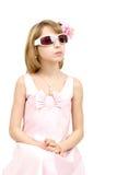 Портрет студии молодой красивой девушки Стоковая Фотография RF
