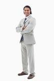 Портрет счастливого работника офиса Стоковые Фотографии RF