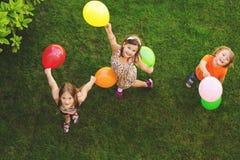 Портрет 3 счастливый детей Стоковые Фото